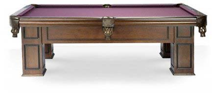 Pool Tables Canada Model Frontenac Walnut Side View   We Ship These Billiard  Tables And Accessories